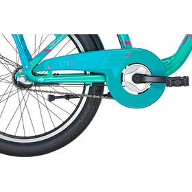 s'cool chiX 20 3-S Alloy Kinderen, turquoise matte